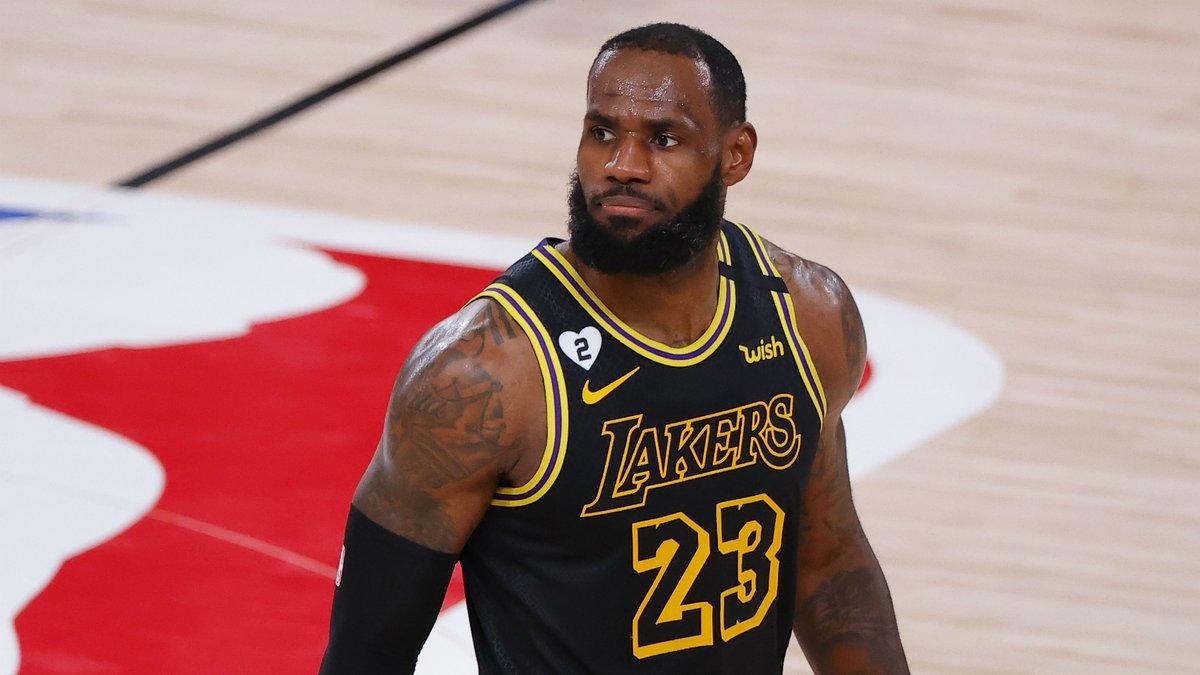 LeBron James dismisses Clippers talk as Lakers star hails Nuggets https://t.co/CV7ETRPCOO https://t.co/0kylwn9rLq