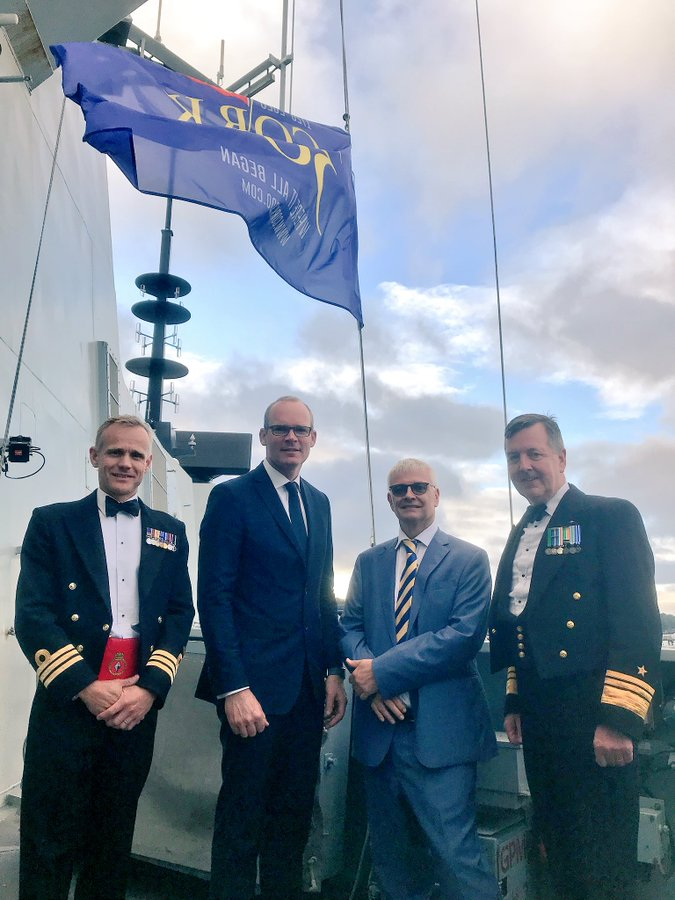 Many of my visits have celebrated the rich maritime tradition of Cork as the home of the 🇮🇪 @naval_service, including accompanying HRH The Prince of Wales to visit the @NMCI_Ireland & Haulbowline Naval Base & welcoming friends from Cork aboard @RoyalNavy @HMSDiamond https://t.co/4gxLgirmAq