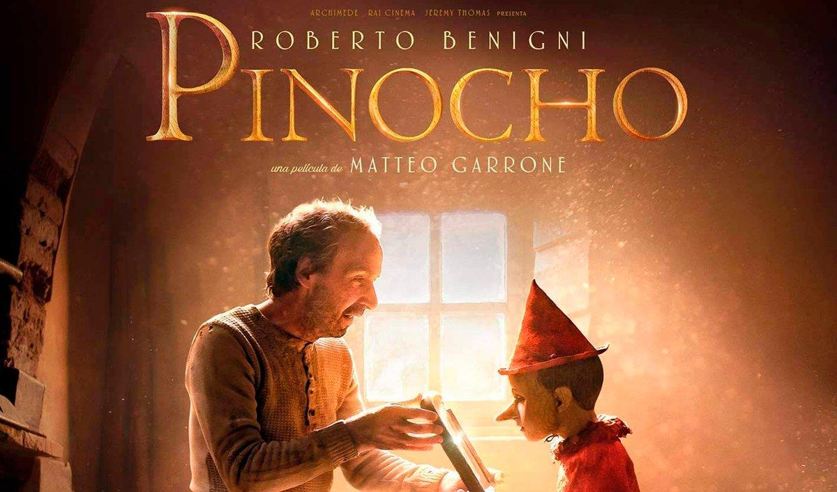 ¡Hoy estreno!  PINOCHO protagonizada por Roberto Benigni tiene un espectacular diseño de producción.  No te pierdas esta bella adaptación de la clásica historia en cines. Película con apoyo #MEDIA 🇪🇺 de agentes de ventas internacionales.  #YoVoyAlCine https://t.co/55crDWPGHs
