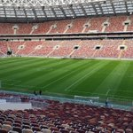 Image for the Tweet beginning: Luzhniki Stadium, Moscow-Russia. SIS Eastern Europe