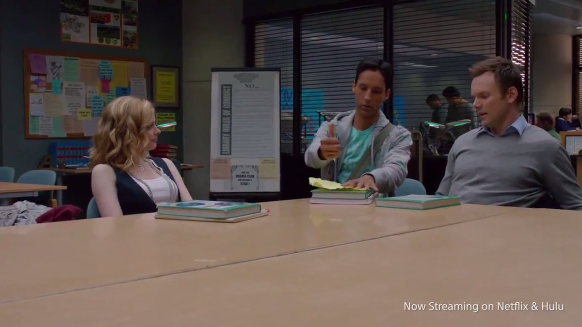 Today in 2009 we found ourselves in Group Study Room F. #Community