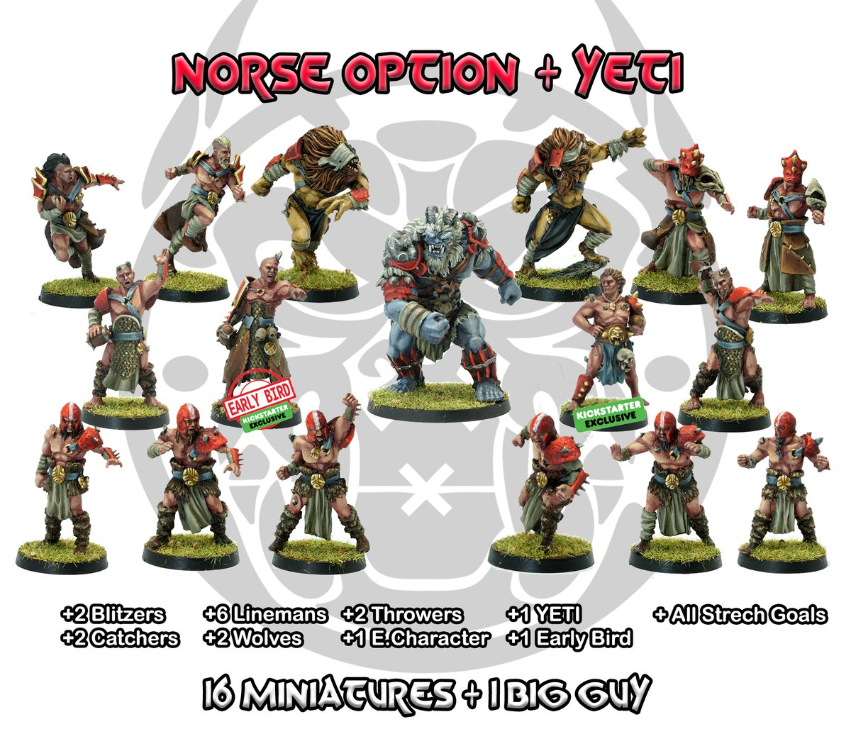 Join the cult. Thousand Faces Cult Kickstarter launched! https://t.co/3HqdNqYtVs  #miniatures #bloodbowl #paintingminiatures #WarhammerCommunity #FantasyFootball #paintingminiatures #boardgames #tabletopgames #miniaturepainting #zenitminiatures https://t.co/Nqg25KVl4C