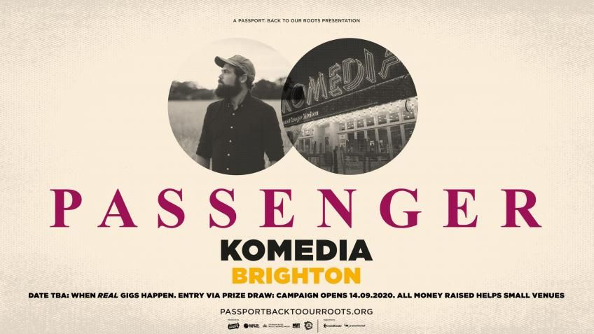 This @passportgigs event with @passengermusic at @KomediaBrighton will be so special. Enter the prize draw now to win entry for you and a +1. Don't forget you can enter as much as you'd like! Visit https://t.co/xUjAWZFxMp for info. ✊ #saveourvenues #backtoourroots https://t.co/j8ydocGvqG