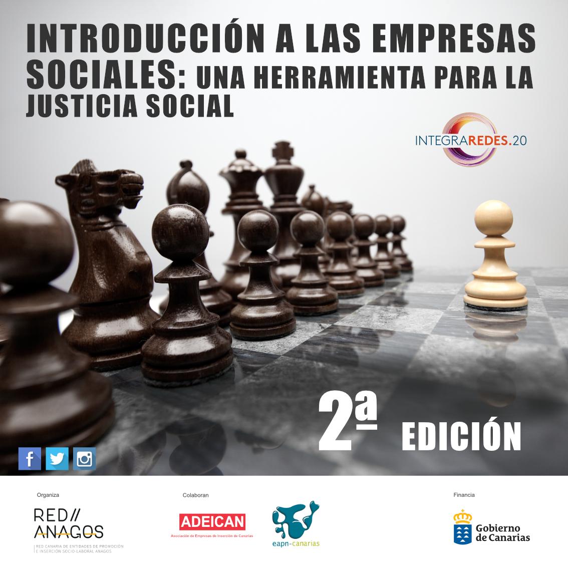 Curso de Introducción a Empresas Sociales (2ª edición)  Conceptos básicos de la Economía Social centrándonos en dos tipos de entidades: las Empresas de Inserción y los Centros Especiales de Empleo  Plazas limitadas!   Inscripción: https://t.co/sD1EsI2Uwt https://t.co/XkSN8PQFGy