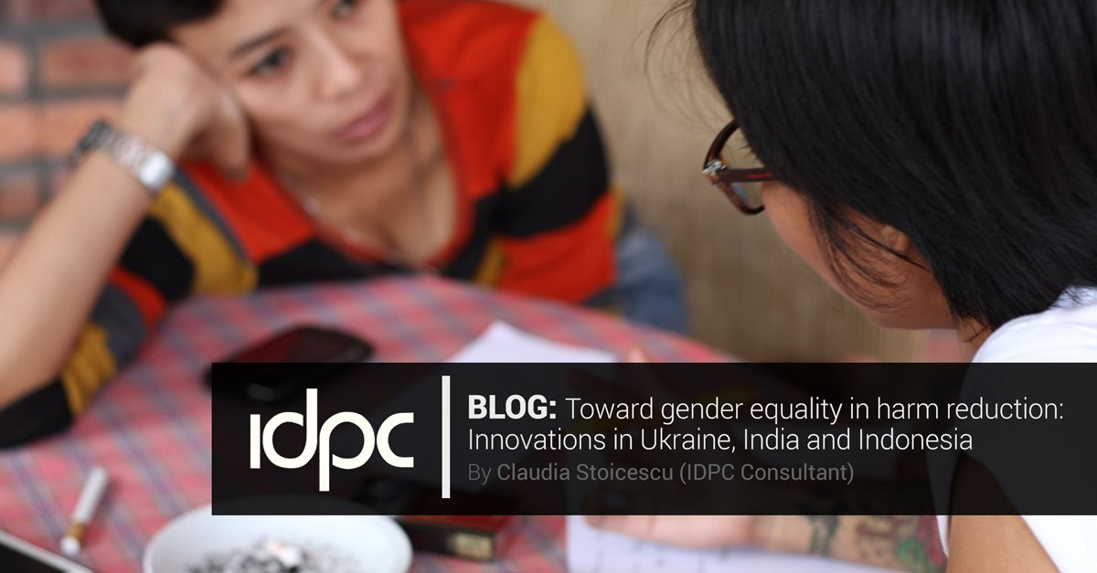 Community-led/-based orgs around the world are pioneering #harmreduction approaches that centre women's needs. But funding for #gendersensitive responses remains scarce. ~@DrClauStoicescu, for the #IDPCBlog. Ft. @frontlineaids https://t.co/SnEjpcIgKx https://t.co/BolAgbx1qV