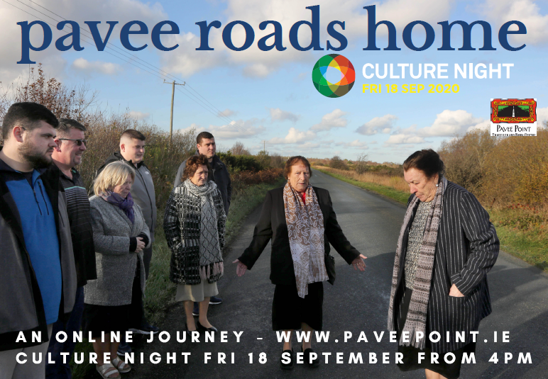 Great so many #Traveller orgs and Travellers in #CultureNight2020 #Diversity @SligoTraveller @tvgcorkclg @Oeiny @InterculturalD1 @RosArtsCentre #MayoTravellers See our poem 'Gloke' at 6pm on FB https://t.co/f0MiN5ONPc and #PaveeRoadsHome from 4pm on https://t.co/MGSCKr8pMX https://t.co/4m7Eh8gs8G