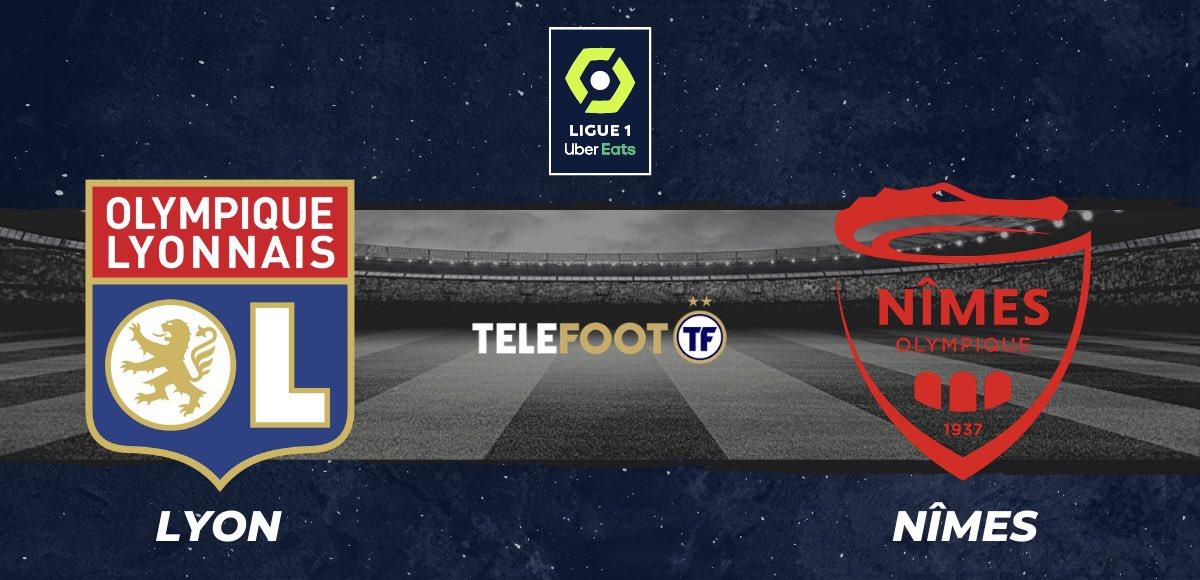 Ce soir, 21h, l'#OlympiqueLyonnais reçoit le #NimesOlympique !🔥  Après sa #défaite face à #Montpellier mardi, #Lyon doit rebondir face à #Nîmes à #domicile !🥵  #RT 🔁 pour #OL #LIKE ❤️ pour #NO  Donnez votre #pronostique en commentaire, un #cadeau 🎁 à gagner ! https://t.co/n4gT6PLM8b