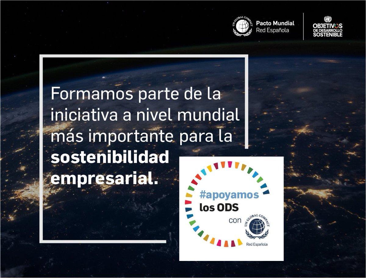 En Repsol #apoyamoslosODS con @PactoMundial y contribuimos a alcanzar la agenda 2030 con la forma en la que desarrollamos nuestra actividad como proveedores de multienergía, para un futuro justo y sostenible: https://t.co/9AWvM9yMt7 https://t.co/1OqYKdHQNt