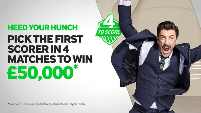 betway 4 ToScore