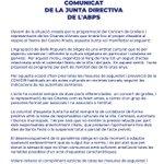 Image for the Tweet beginning: L' @agrupasitges manté la convocatòria
