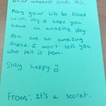 Year 6 have been writing wonderful notes for people to find as part of their iSpace lesson on kindness. Maybe you were one of the lucky recipients#randomactsofkindness#ispace#smile#kindness
