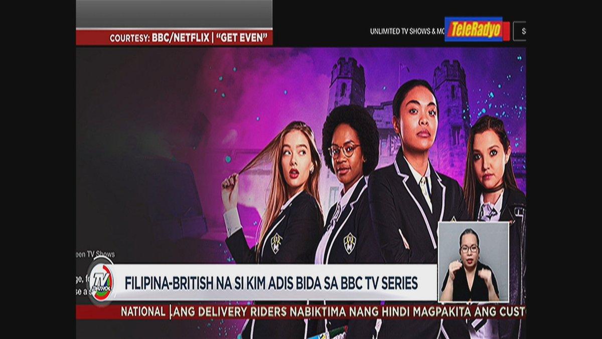 #TVPatrolLive Bibida ang Filipina-British na si Kim Adis sa BBC television series.   ulat ni @YongChavezLA