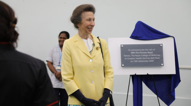 This week patron of the RCM Her Royal Highness the Princess Royal visited midwives, MSWs & maternity staff at Croydon University Hospital https://t.co/SD5kbxGIfb @RoyalFamily @croydonhealth https://t.co/4TFX3mQsAg