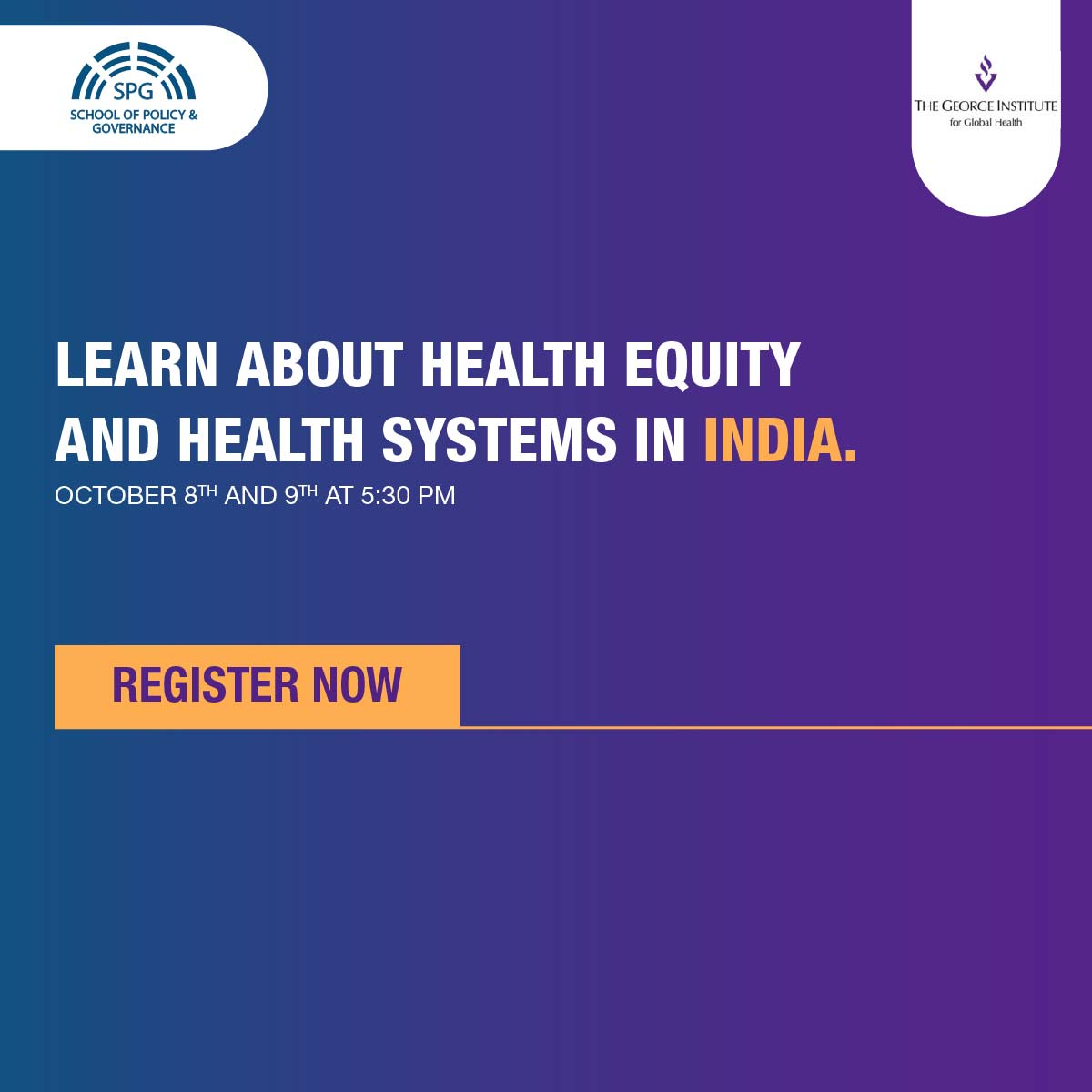 Only 3 weeks to sign up for Health Equity and Systems program in partnership with @georgeinstitute! Free and paid options available. Sign up at https://t.co/cGLzc2ilI3   #healthcare #COVID19 #HealthyNation https://t.co/VvI1h4mRxM