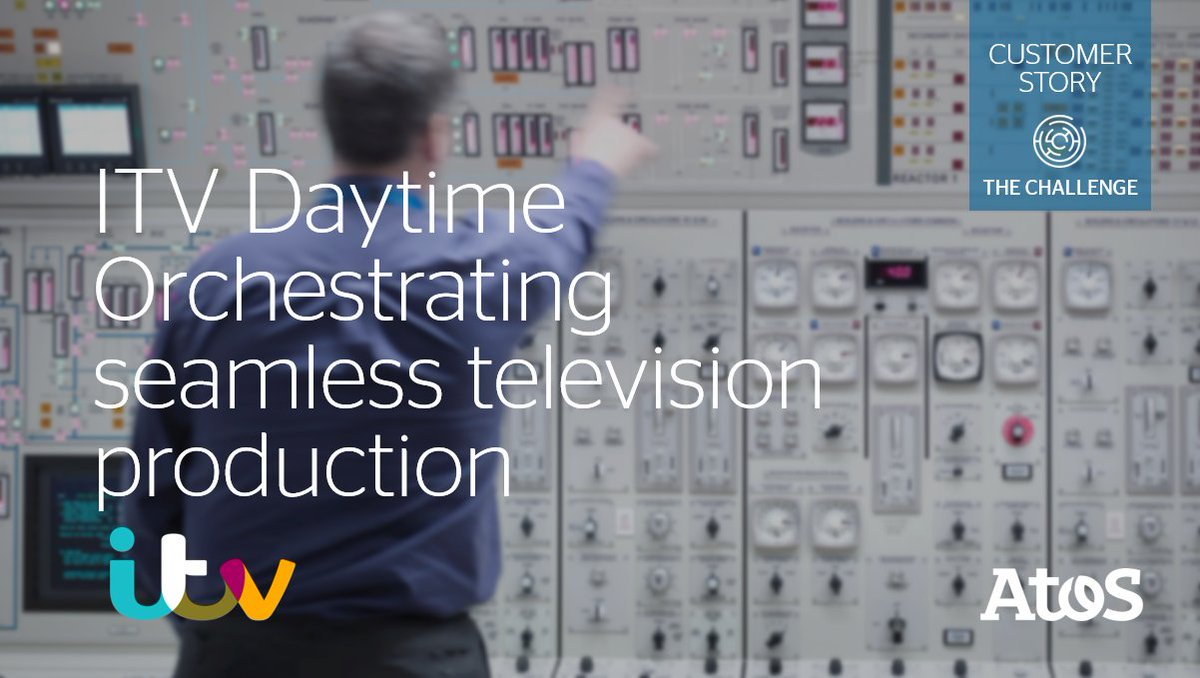 """[#AtosMedia] """"Live #TV is all about perfect timing, immediacy and reliability"""" @ITV Daytime relies on our #media solution BCNS+ for their on-air transmissions to millions of viewers every day. They tell you more in our case study: https://t.co/iRDUTgZooy https://t.co/LOsWIFGlk7"""