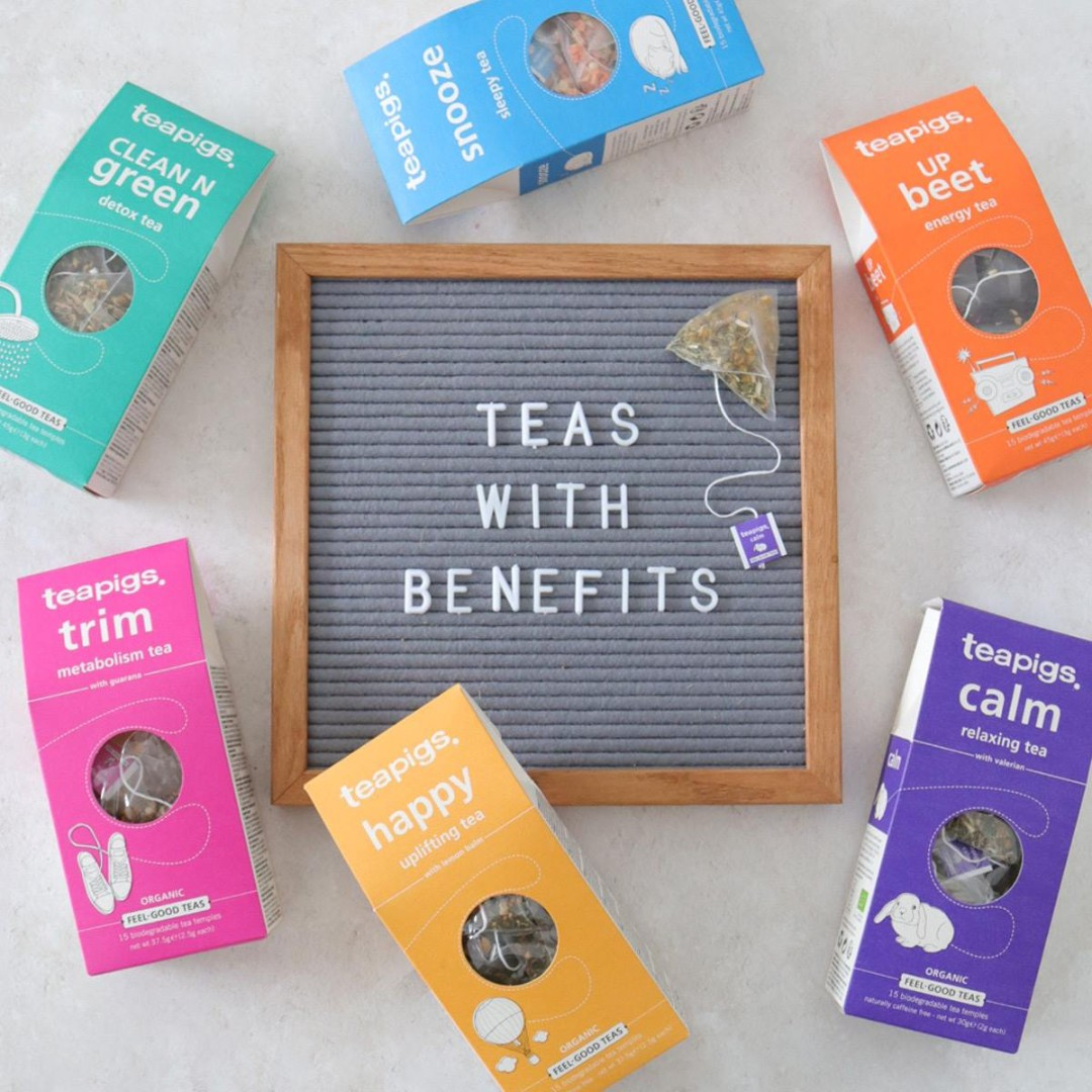 It's #OrganicSeptember, so we want to shine a spotlight on our fab organic feel-good range. Six delicious blends, each containing an active ingredient to support your wellbeing.   Head this way to find out more > https://t.co/pC6s4G9zaz https://t.co/dct0Z0AySS