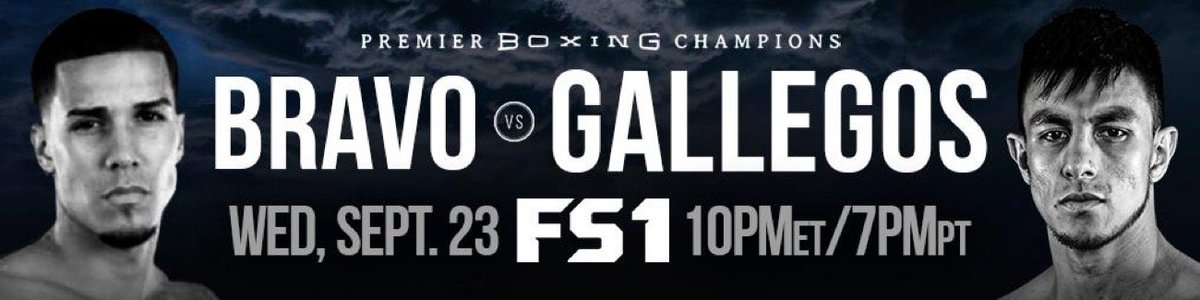 Nestor Bravo-Jose Luis Gallegos Headline FS1 PBC Fight Night - https://t.co/0o8GJqyHP4 #FoxSports #Fs1PbcFightNight https://t.co/j0ek3d0L2p