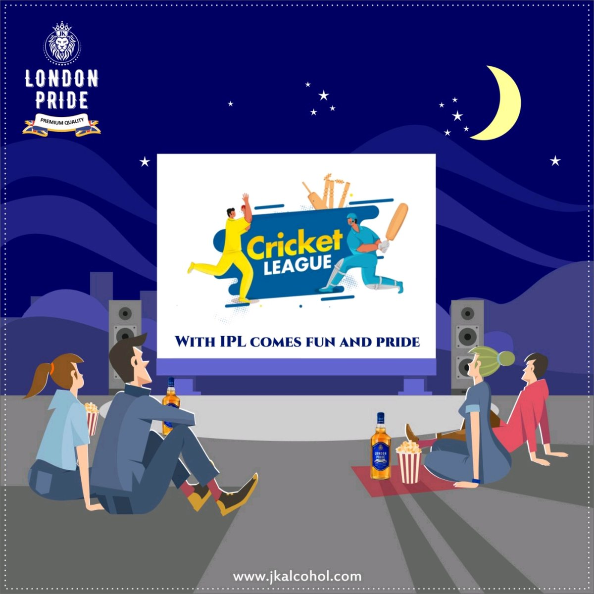 Have you been missing some excitement from life? Well, miss it no more as IPL is starting! So, get ready for it by getting London Pride Premium Whisky! #IPL #IPL2020 #IPLFever #cricketlover #cricket #cricketlove #cricketfever #jkalcohol #Jkgroup #JkEnterprises #londonpride https://t.co/UUeHrpRWwR