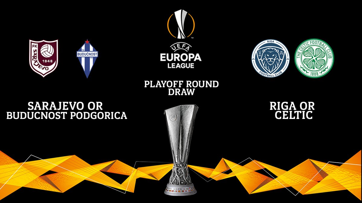 🌍 If we progress in the #UEL, we will face either Sarajevo or Buducnost Podgorica  in the @EuropaLeague playoff round.  Full fixture, date and venue TBC 🗓️ https://t.co/QqGWsEMeLj