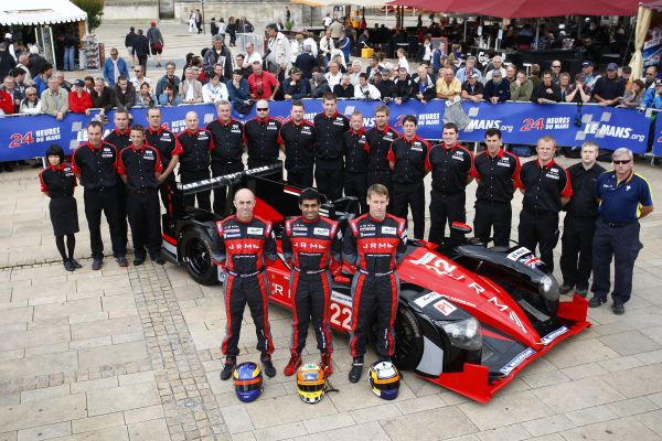 To mark this weekends #LeMans24Hour and the most famous race in the world, we're sharing our first entry in 2012 with the LMP1 HPD ARX-03a @Honda. The dream trio @brabsracer @karunchandhok and @AhLovejoy brought the 3.4L V8 over the line to 6th. A major milestone for #JRMRacing! https://t.co/t0qDIlm4zL