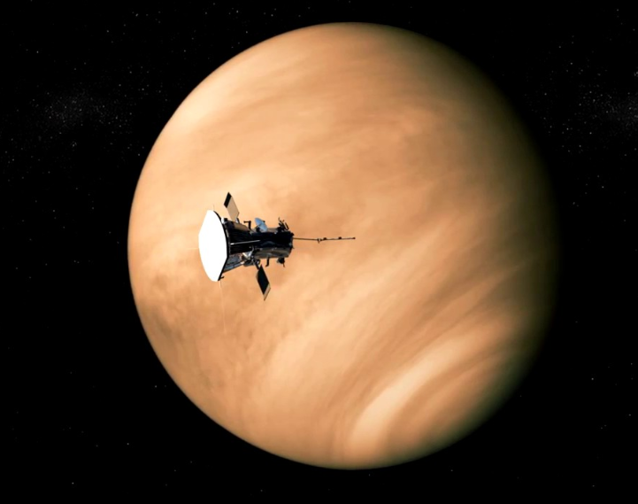Some more Venus news  NASA's Parker Solar Probe is ALSO about to fly past the planet and could look for phosphine!  The flyby in Feb 2021 is the first of five flybys up to 2024 on its way to the Sun. And, I'm told, the team will have a look for phosphine, like ESA's BepiColombo. https://t.co/MQac3CqGLM