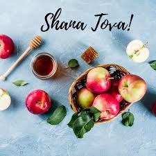 May this New Year be filled with good health and happiness. L'shana Tovah!