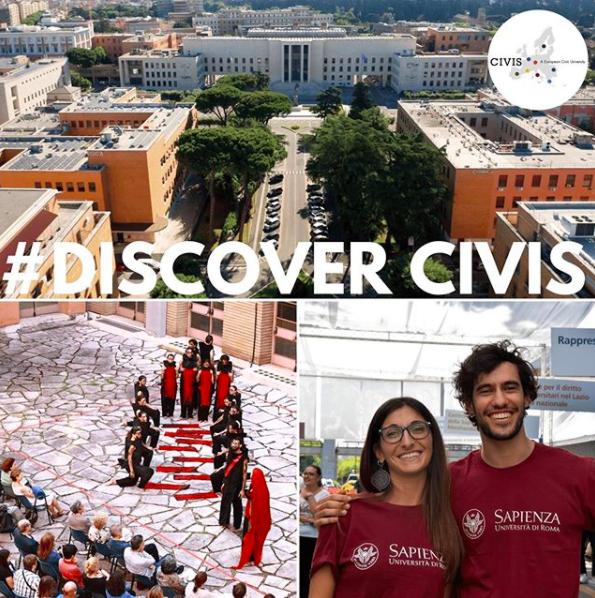 Como sabéis #CIVIS realizó este verano una alianza con la European Civic University, en la que participa la #UAM. Con el fin de crear un espacio colaborativo de enseñanza e investigación, que facilitará intercambios culturales innovadores. https://t.co/DwNKY7922T