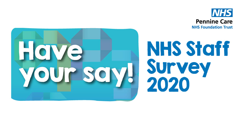 Message for our #PennineCarePeople (and any colleagues across the #NHS):  The annual staff survey is here.  This year part of it aims to help us understand your experiences of working through covid.  Check your NHS mail inbox and please stick 15 mins in your diary to fill it in. https://t.co/Njg84sAX7G