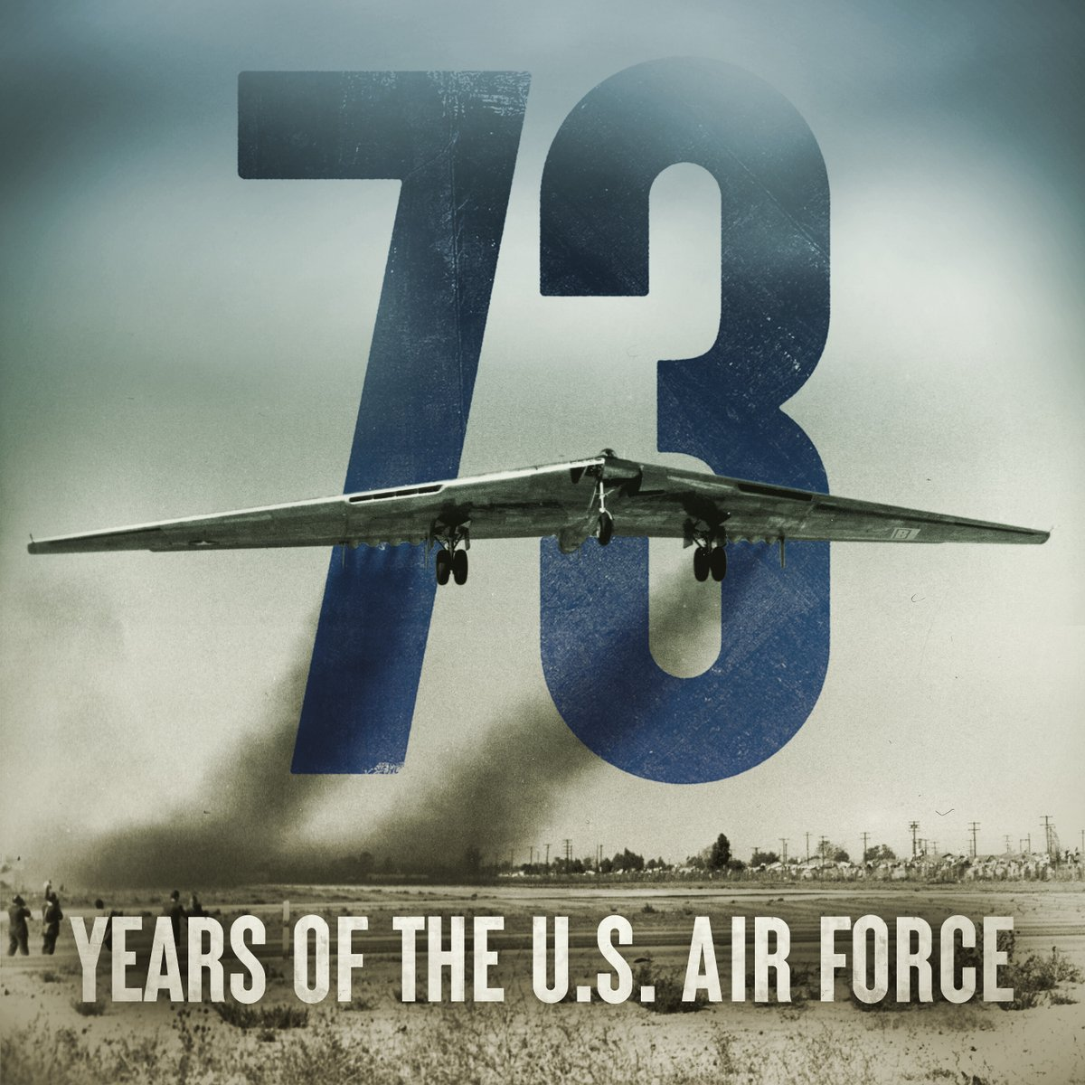Today, we celebrate 73 years of those who fly, fight and win in air, space and cyberspace. Happy Birthday, U.S. Air Force!