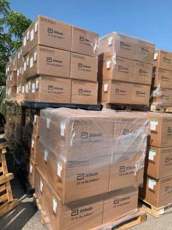 """Covid19, arriva in Sicilia il primo carico di tamponi rapidi, Musumeci """"Diagnosi veloci in scuole e carceri"""" - https://t.co/mkruZ63wP4 #blogsicilianotizie"""