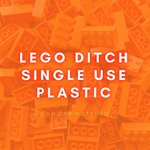 Image for the Tweet beginning: #GoodNewsFriday👏 ⚡️Lego pledge to ditch