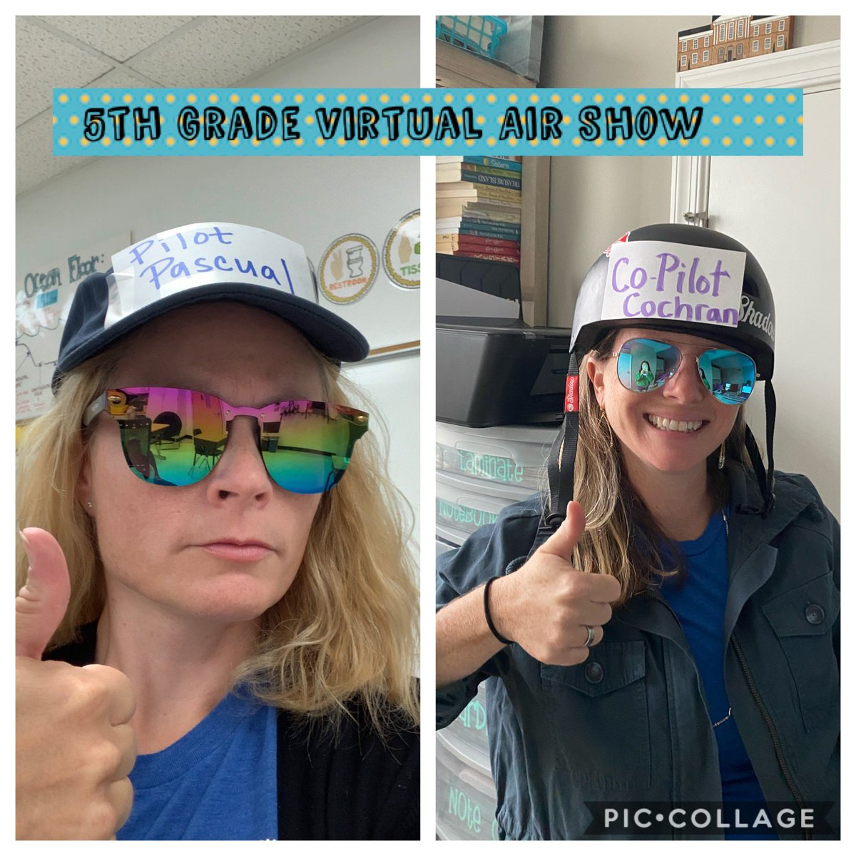5th Grade Virtual Air Show here we come! All systems are a GO! We will be your proud pilots today! @elschulz_liz @cfescolts #coltspride #VBAlwaysLearning https://t.co/Rp4iPTFWaS