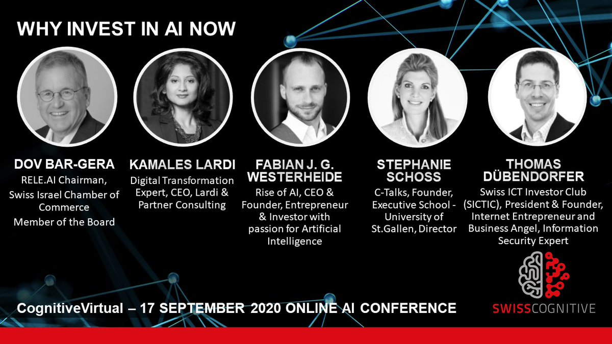 𝗪𝗵𝘆 𝗜𝗻𝘃𝗲𝘀𝘁 𝗜𝗻 𝗔𝗜 𝗡𝗼𝘄 🧠🚀💵 Watch the open and transparent discussion of experts and leaders:   👉🏼 https://t.co/9wHpDD3fFt 👈  #CognitiveVirtual conference – 𝗧𝗵𝗲 𝗦𝗵𝗮𝗸𝗲𝗱𝗼𝘄𝗻-𝗧𝗲𝘀𝘁 𝗼𝗳 𝗔𝗜 𝗜𝗻𝘃𝗲𝘀𝘁𝗺𝗲𝗻𝘁𝘀 https://t.co/VMi4tiNTMk