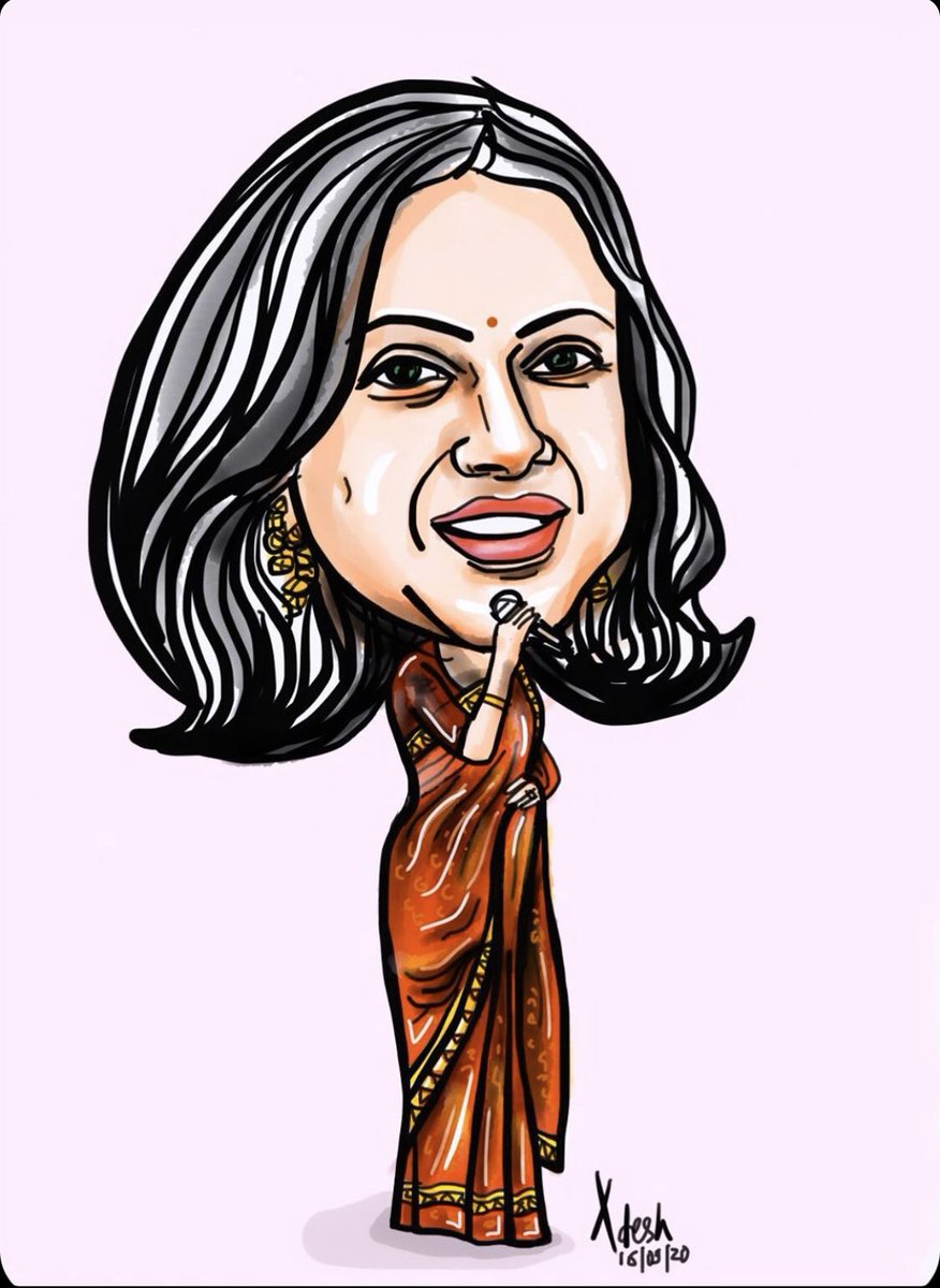 Thank u dear @AdeshBhatt  Ji for this amazing caricature artwork !! Am super flattered 💓💓💓 https://t.co/MZkEDhST4c