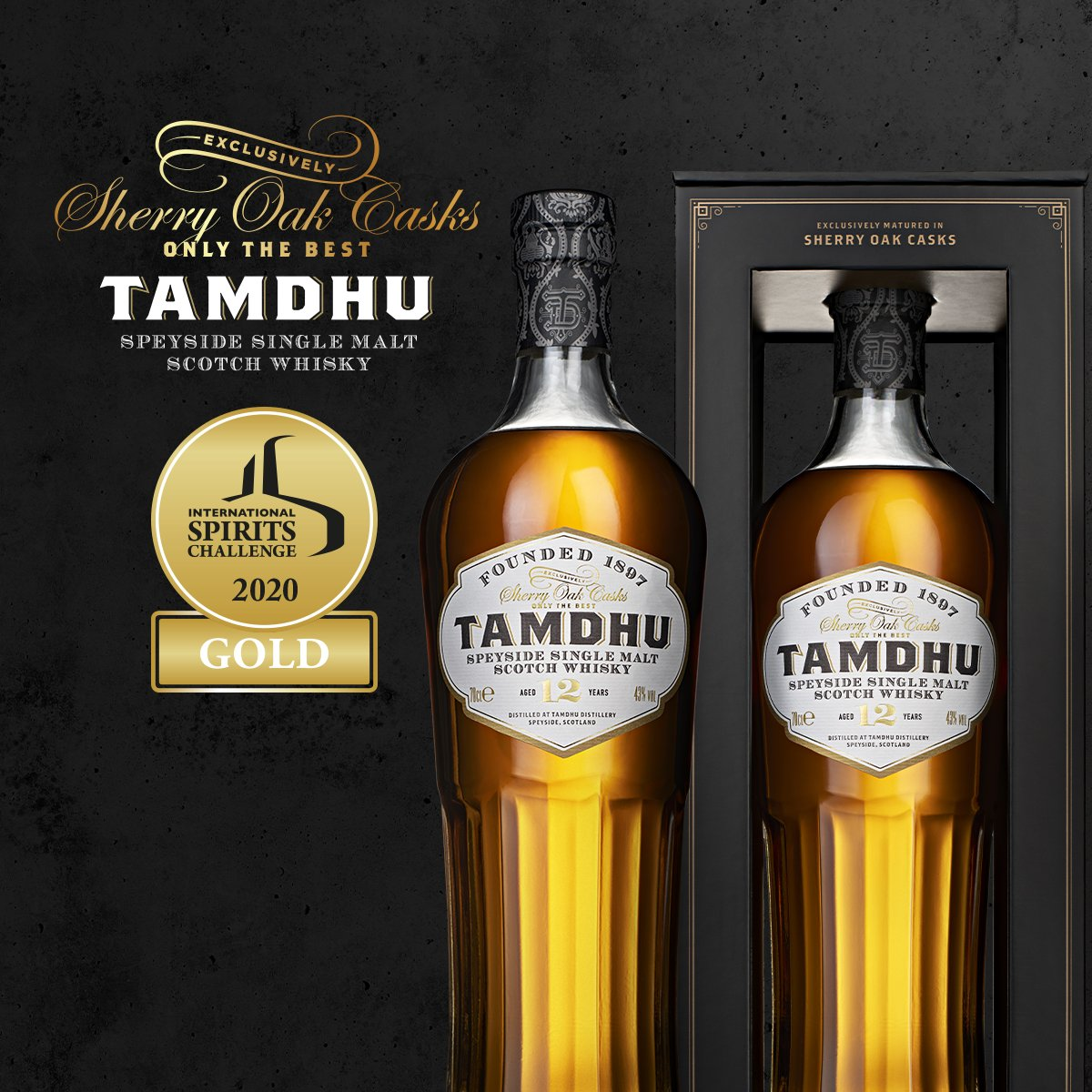 Our Tamdhu 12 and Tamdhu 15 have both won Gold at this year's prestigious ISC Tasting Awards. Because good taste matters. 🥇 https://t.co/lCjwYt8D3A