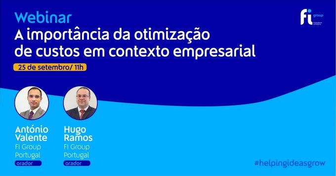 Na próxima sexta-feira, 25 de setembro, às 11h vamos estar à conversa com António Valente e ....