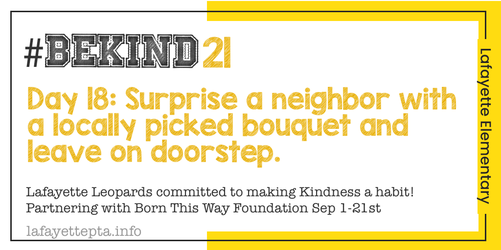 Who doesn't love a dose of color! #BeKind21 https://t.co/HPUbyiJhlo