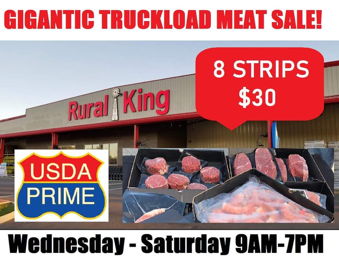 Join Chris and the Arch @BommaritoAuto Street Fleet TODAY from 4p-6p at Rural King in Warrenton! It's the Prime House Direct Gigantic Prime Steak, Chicken, and Seafood Truckload Sale! Learn more here https://t.co/2DjcYFs6bL https://t.co/eiMcSqvOXp