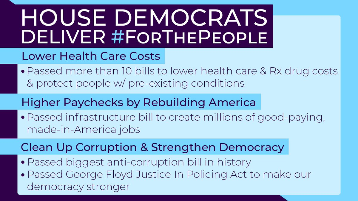 When @HouseDemocrats fight #ForThePeople we get things done! https://t.co/otVtH6oGzr