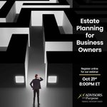 Image for the Tweet beginning: WEBINAR | Estate Planning for