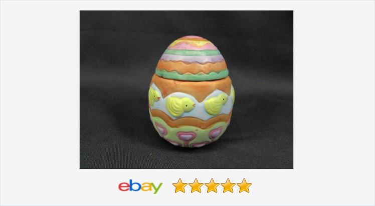 Painted Ceramic Easter Egg Candle Holder Baby Chicks #eBay #easteregg #easter #decor #babychicks #candleholder  https://t.co/YgVsTz3dhJ (Tweeted via https://t.co/nQi0oquTl3) https://t.co/tBaJHM6cEk