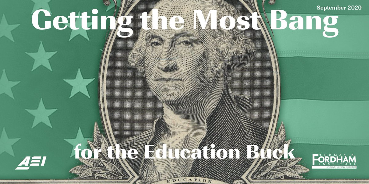 """As US education enters a period of significant challenges, including Covid-19 shortfalls, """"Getting the Most Bang for the Education Buck"""" will be a valuable guide for how to spend dollars wisely. @TCPress @rickhess99 @bwrighted @educationgadfly  https://t.co/6tSdnBQrD0 https://t.co/6FqCtf41Aj"""