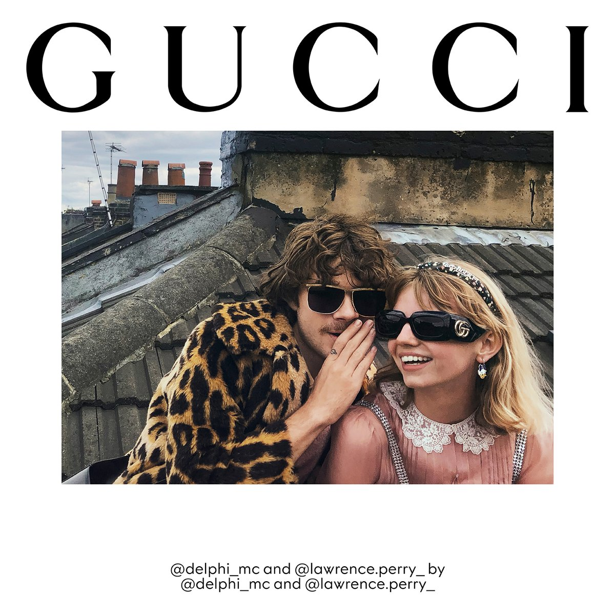 #gift #luxury New #GucciEyewear shades featuring House motifs like the Interlocking G detail feature in #GucciTheRitual. A portfolio of self-portraits shot by models, the #GucciFW20 campaign is a hymn to freedom. Discover more https://t.co/s0X78CE07U.  #… https://t.co/ZSjaLVzRIE