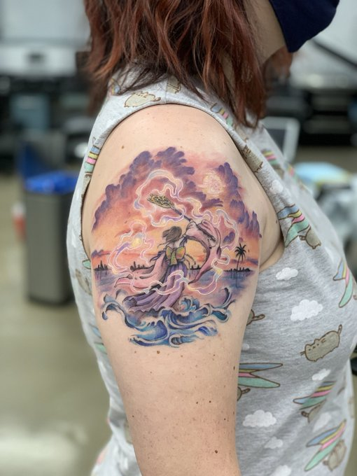1 pic. New tattoo! X was my first FF and Yuna holds such a special place in my heart (enough to have