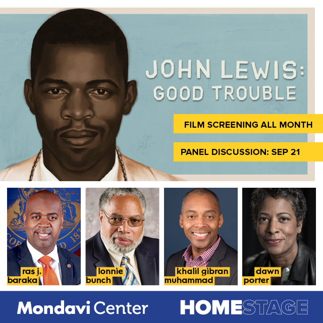 Tomorrow join @MondaviCenter in celebrating civil rights icon John Lewis with a special screening of John Lewis: Good Trouble.  A virtual panel discussion to follow.⁠ ⁠ Learn how you can sign up on https://t.co/qyO6LIoatx. #AD #HomeStage https://t.co/E86AdYg6JQ