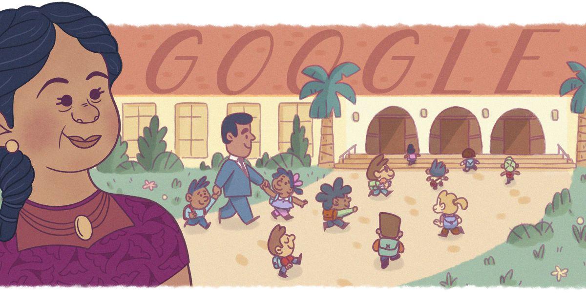Google Doodle honors civil rights pioneer Felicitas Mendez for Hispanic Heritage Month https://t.co/YVP3CK6WK7 https://t.co/LJtLVbKI4V