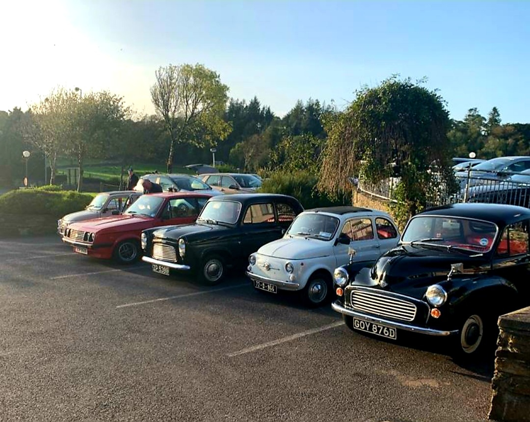 Wild Atlantic Way Fiat Tour taking a rest at the Westlodge Hotel for the evening in the gorgeous sunshine ☀  #wildatlanticway #fiattour 🚙 #visitbantry #purecork #purecorkwelcomes https://t.co/NKbKnUNdEB