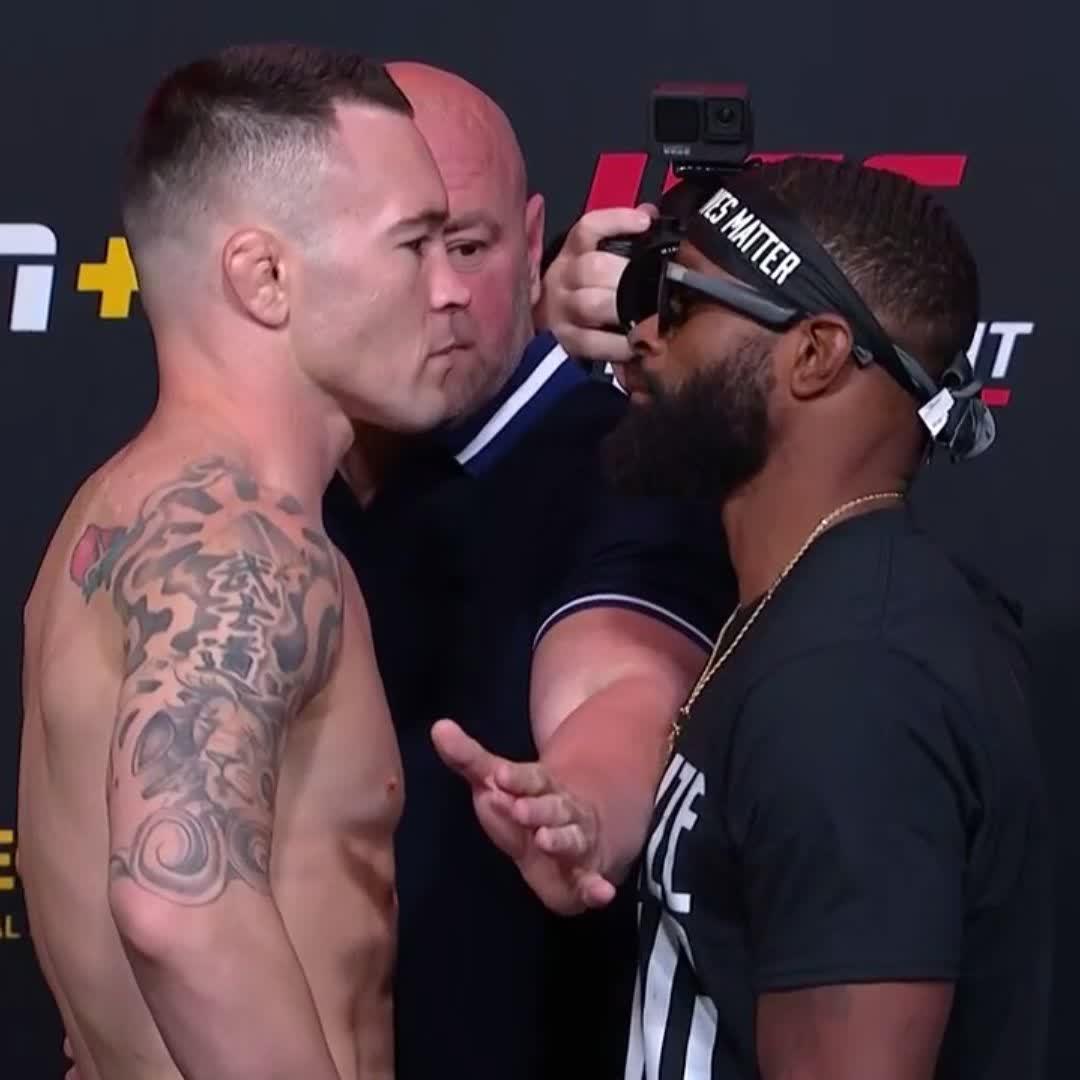 CHILLS.  We finally settle it tomorrow night 🤬  [ #UFCVegas11 - LIVE on #ESPNPlus ] https://t.co/BNU5tLNOhr
