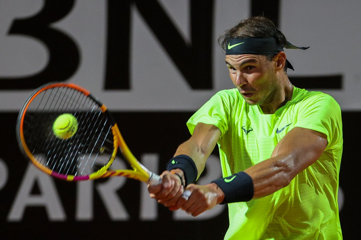 🚀 🎾 💥 Atomic Rafa!  #Nadal vs #Lajovic 61 - 63  And now #ATP QF are set:   Nadal 🆚 Schwartzman Djokovic 🆚 Koepfer Berrettini 🆚 Ruud Shapovalov 🆚 Dimitrov  #IBI20 https://t.co/ACD0Hz4dN1