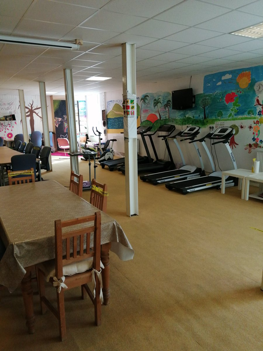 Was at the #womensactivitycentre in Park ward Halifax yesterday what a great facility in our community.